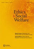 Journal Cover: Ethics & Social Welfare
